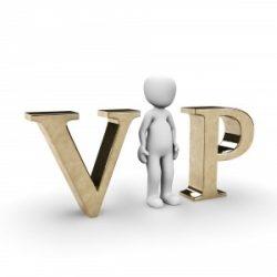 Leistungen für VIPs