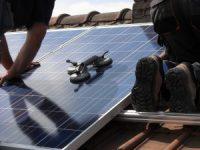 Solar Panele einbauen